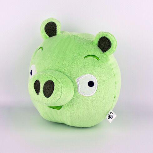 Мягкая игрушка Weber Toys Angry Birds Свинья средняя 16см (528)