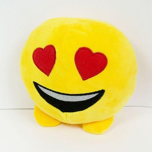 Мягкая игрушка Zolushka смайлик emoji любимчик 18см (619)