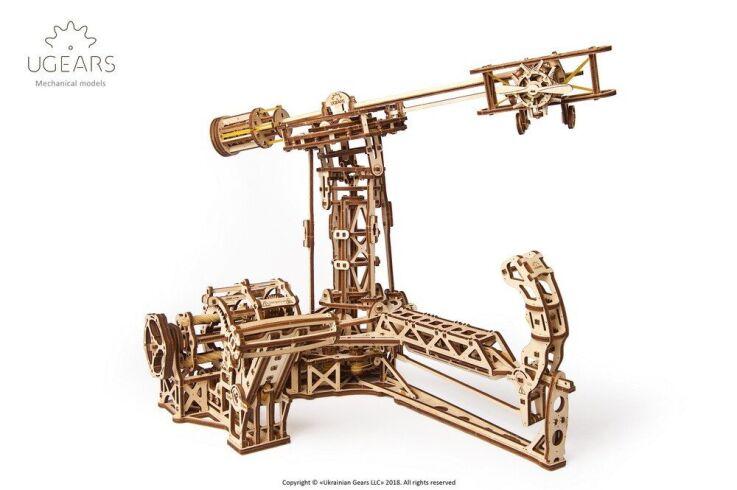 Механический 3D пазл UGEARS Авиатор (70053)