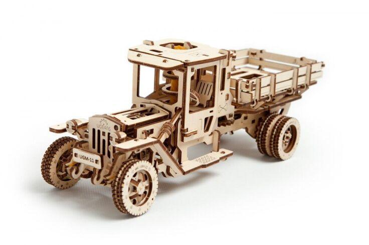 Механический 3D пазл UGEARS Грузовик (70015)