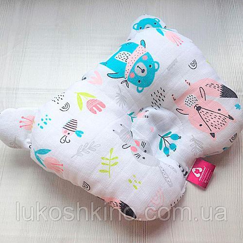 Ортопедическая подушка - бабочка для деввочек Lukoshkino (8072LUK-2)