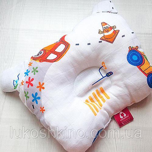 Ортопедическая подушка - бабочка для мальчиков Lukoshkino (8072LUK-3)