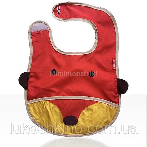 Слюнявчик детский Zoo Лисенок красный (4121)