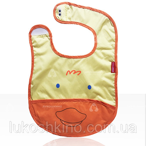 Слюнявчик детский Zoo Цыпленнок желтый (4120)