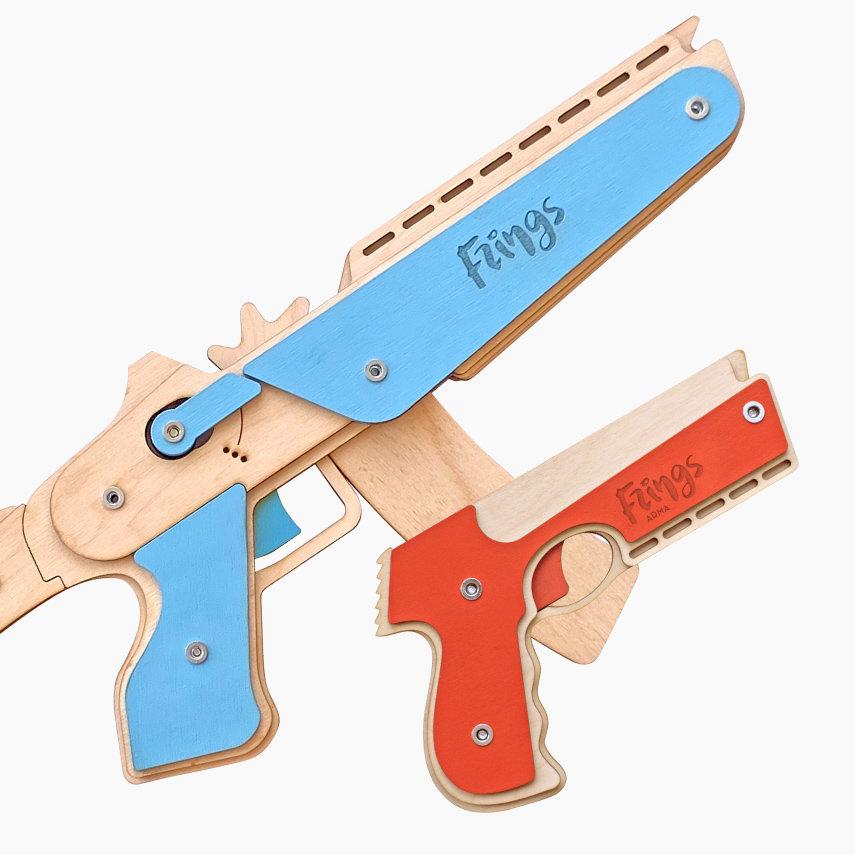 """Набор резинкострелов """"Звездный штурмовик"""": автомат + пистолет"""
