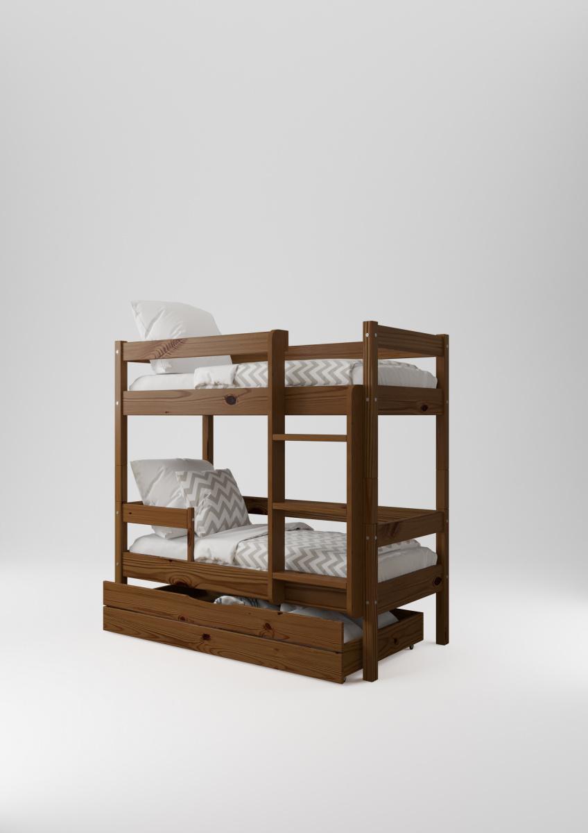 Детская двухъярусная кровать НЕМО