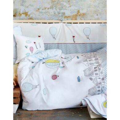 Постельное белье для младенцев Karaca Home - Balloon 2018-1 аппликация Турция