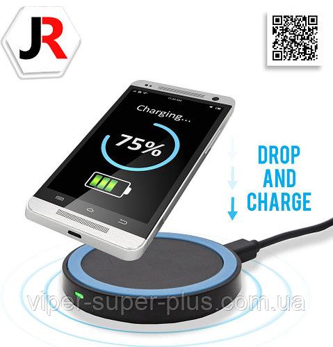 Беспроводная зарядка для телефона и планшета JAKCOMBER YC-01
