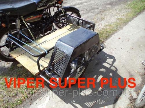 Боковая коляска транспортная к мопедам и мотоциклам на 125-150 кубиков! Подходит к VIPER