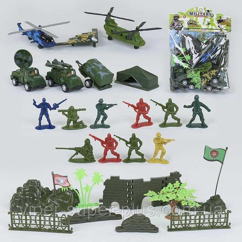 Военный игровой набор 8633 В (72) в кульке