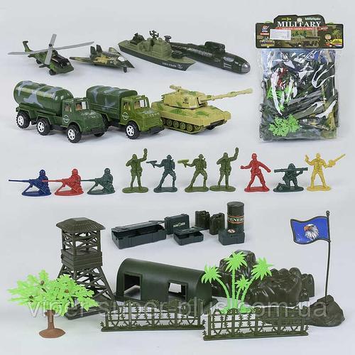 Военный игровой набор 8636 В (48/2) в кульке