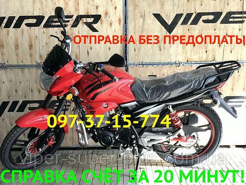 Мотоцикл Вайпер Viper ZS V150А Красный Наложка Новый! Быстрое Оформление ДОКУМЕНТОВ за 24 часа!