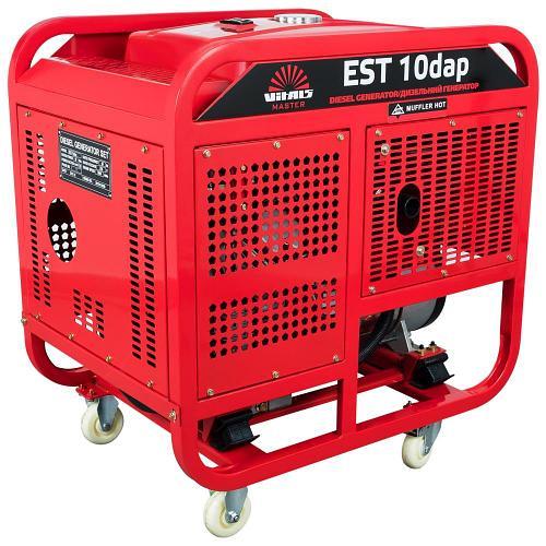 Генератор дизельный 3 фазный Vitals Master EST 10-3dap (11 кВт, авто-запуск)
