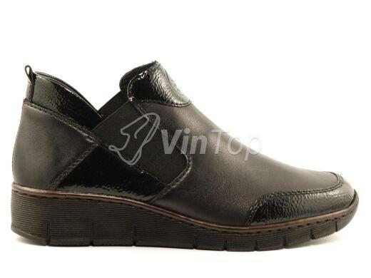 ботинки RIEKER 53786-00 black, цвет чёрный