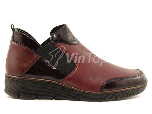 ботинки RIEKER 53786-35 red, цвет красный