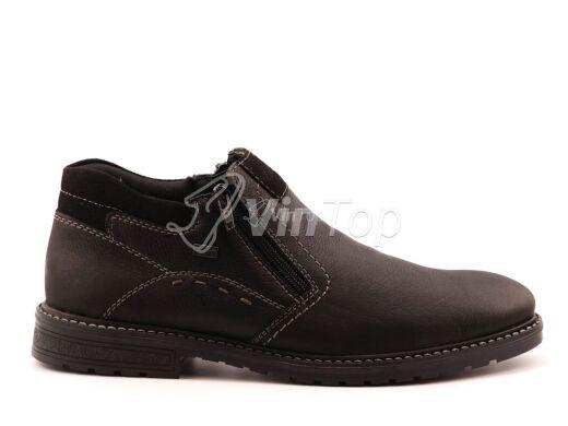 ботинки RIEKER B5392-00 black, цвет чёрный