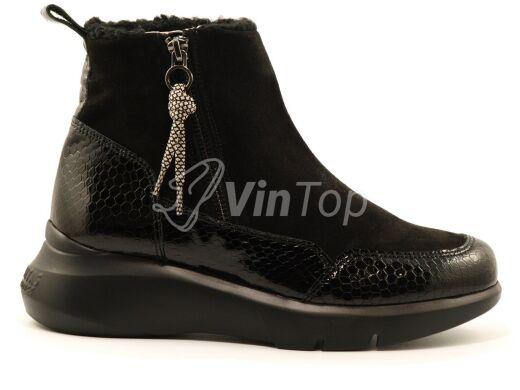 ботинки HISPANITAS HI00786 black, цвет чёрный