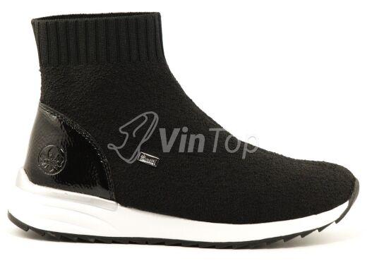 ботинки RIEKER X8050-01 black, цвет чёрный