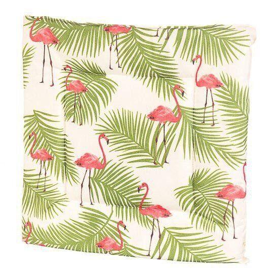 Подушка для стула Elisey с фламинго 40 см