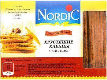 Хлебцы Nordic многозерновые 100г