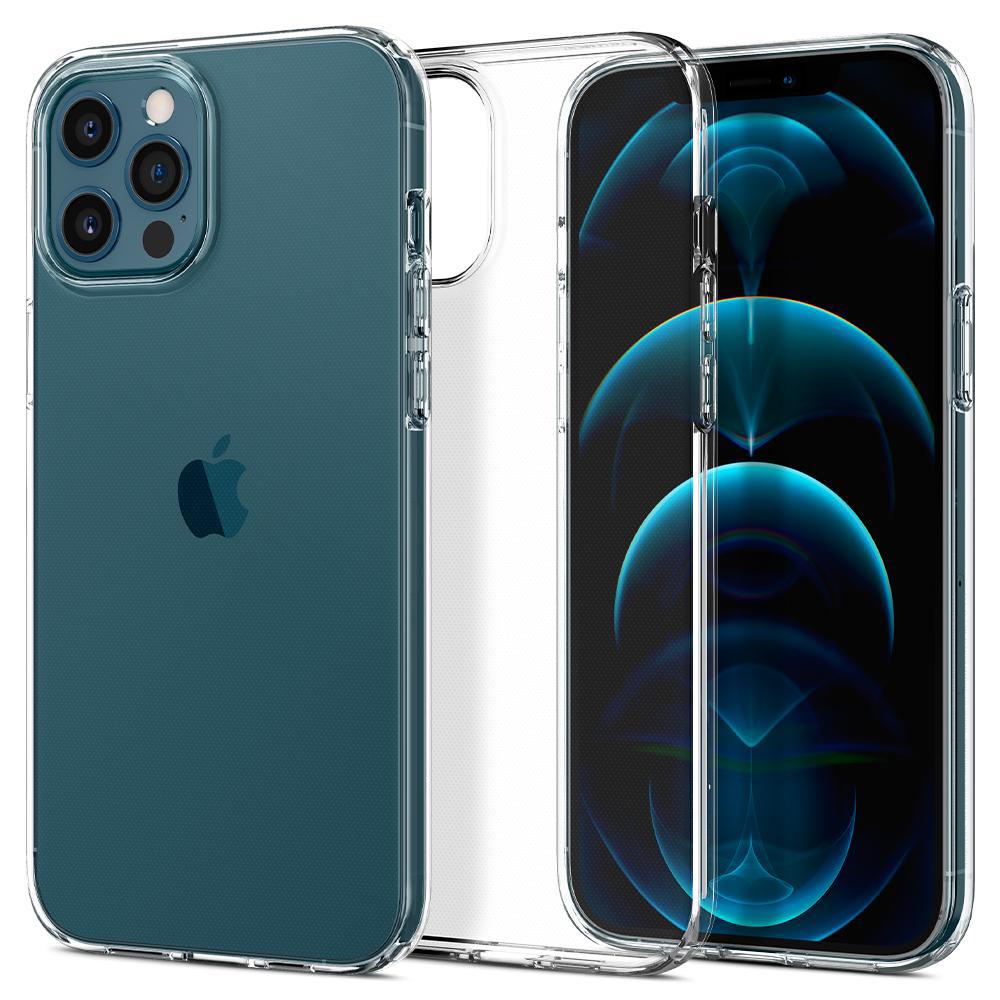 Чехол Силикон WS для Apple iPhone 12 / 12 Pro (Прозрачный)