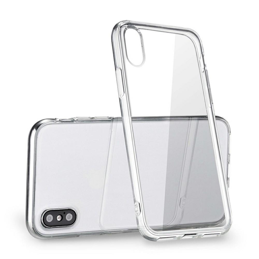 Силикон WS Apple iPhone X / XS (прозрачный)