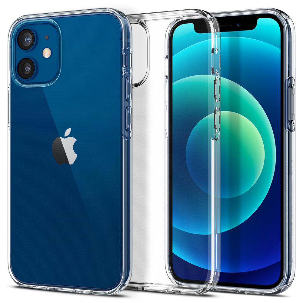 Чехол Силикон WS для Apple iPhone 12 Mini (Прозрачный)