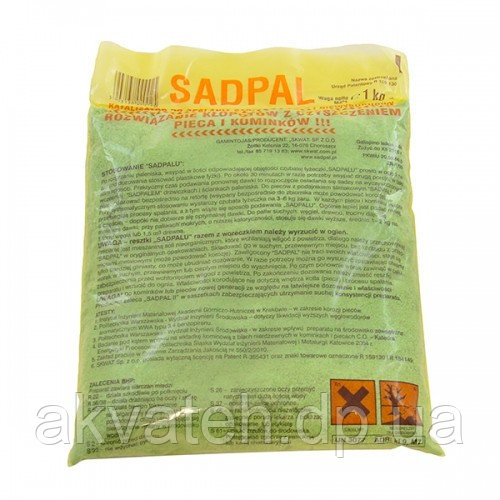 Выжигатель сажи (катализатор сгорания) SADPAL (Польша)