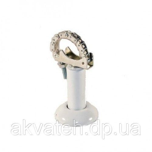 Напольное крепление алюминиевого секционного радиатора