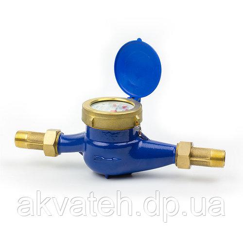 """Счётчик воды 1"""" (ду 25) ЛВКч-25У Ду25, Qn=6,3m3/ч многоструйный Украина"""