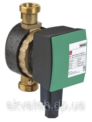 """Насос для рециркуляции горячей воды Wilo Star Z-15 Nova 1/2"""" 4,5 Вт (Германия)"""
