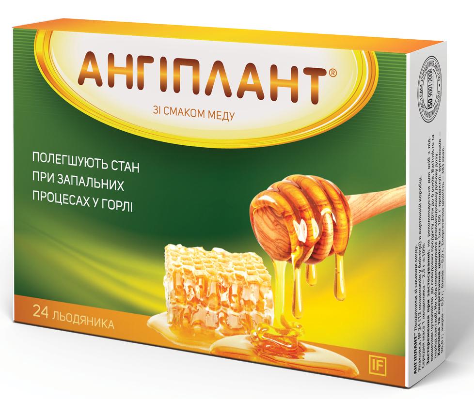 Ангиплант леденцы со вкусом меда 24