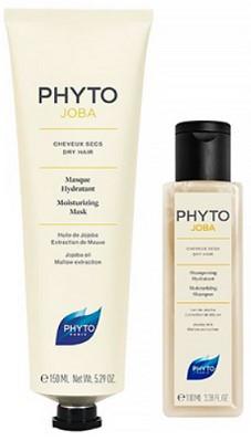 Набор Phyto Phytojoba (Маска увлажняющая 150 мл + Увлажняющий шампунь 100 мл в подарок)