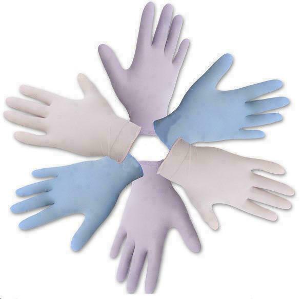 Перчатки Medicare смотровые нитриловые нестерильные не припудренные хлорированные васильковые (р.M)