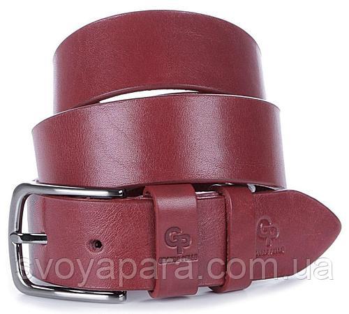 Ремень женский GRANDE PELLE 00915 кожаный Красный