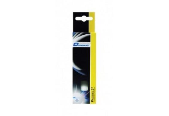 Мячики для настільного тенісу Donic-Schildkrot 2* PRESTIGE 3шт, білі (60-8322)