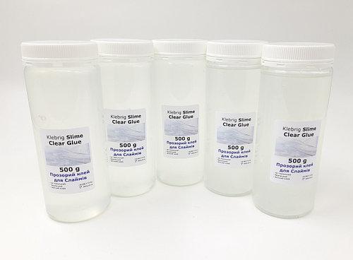 Прозрачный клей 2,5кг для Слайма 500гх5шт Klebrig Slime Clear Glue