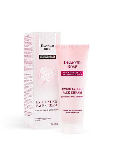 Отшелушивающий крем для лица DIAMOND ROSE
