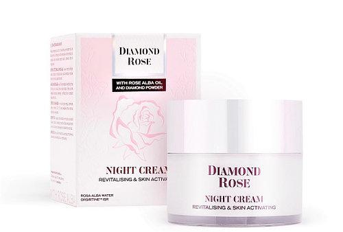 Восстанавливающий ночной крем DIAMOND ROSE