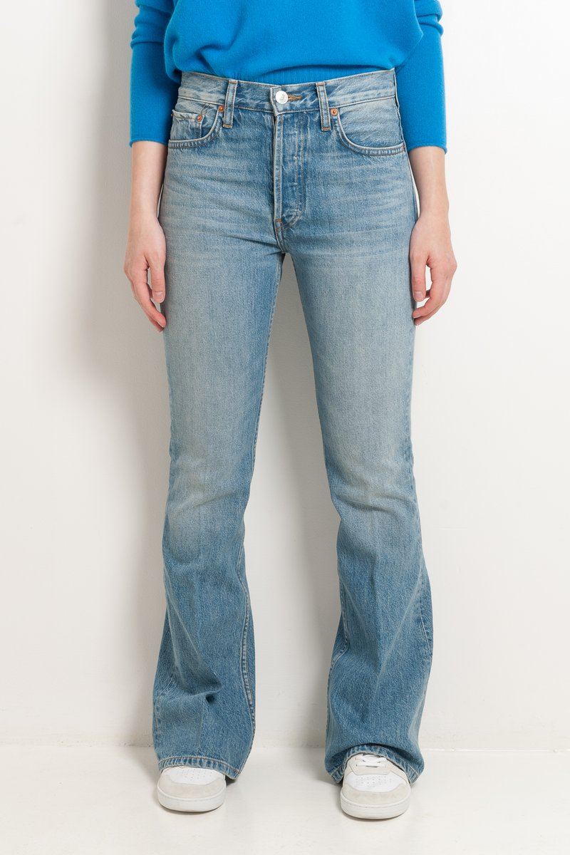 High Break Flare Jeans