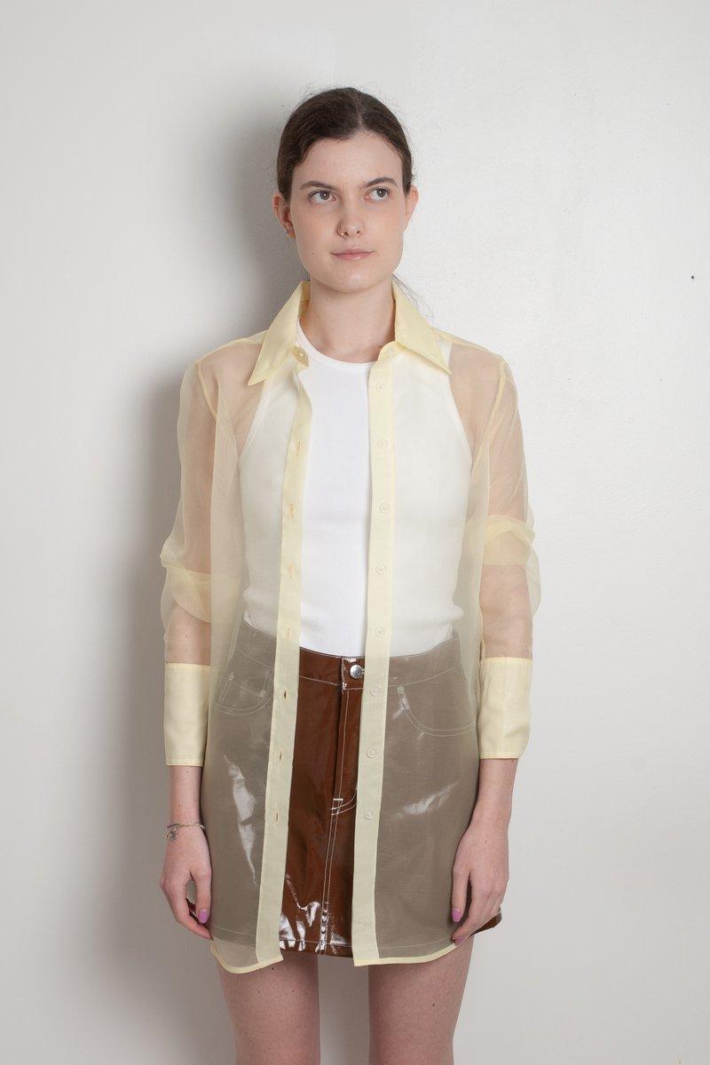 Rowena sheer shirt