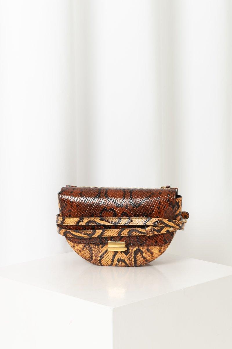 Anna Belt Bag Inca Python