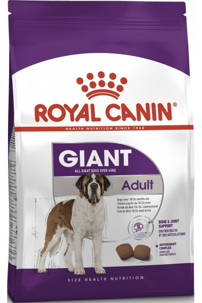 Royal Canin Giant Аdult для взрослых собак гигантских пород