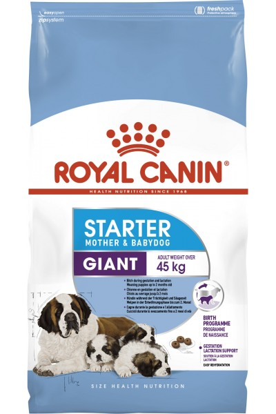 Royal Canin Giant Starter для щенков гигантских пород до 2 месяцев