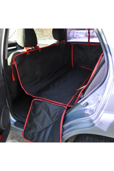 YOUR STYLISH HUNTER AVTO DOX STANDART универсальный автогамак с бортами (черно-красный)