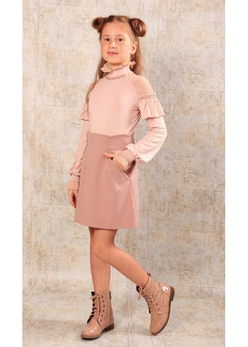 Юбка Анетта светло розовая