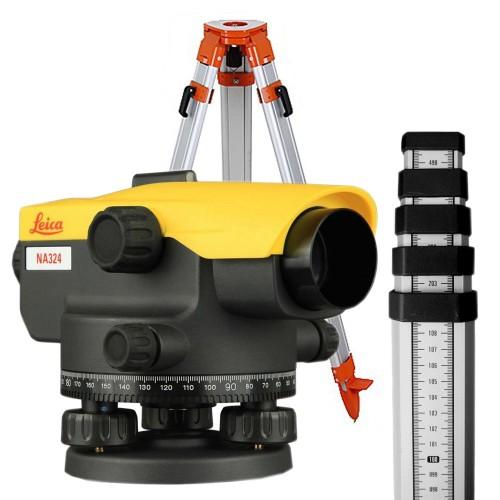 Нивелир оптический Leica Na324 SET