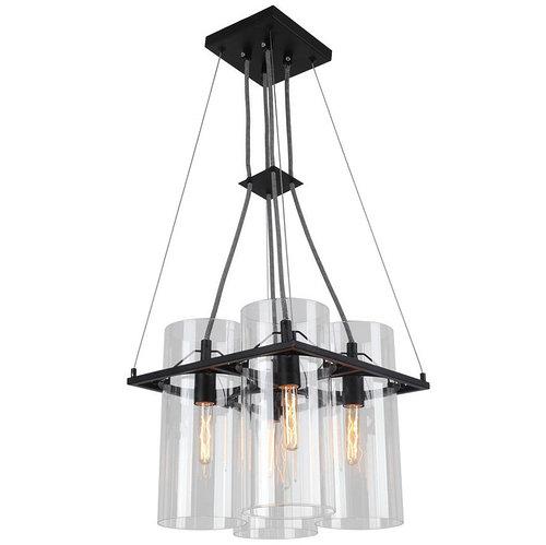 Люстра Arte Lamp A8586SP-4BK PIATTO черный