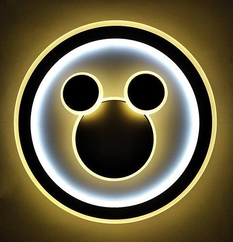 Люстра в детскую комнату светодиодная круглая (898-2 150W)