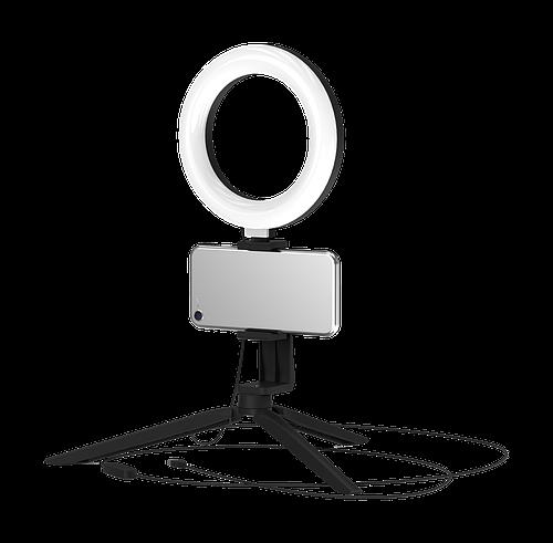 Кольцевая светодиодная лампа RL001 с комплектом креплений для телефона D16